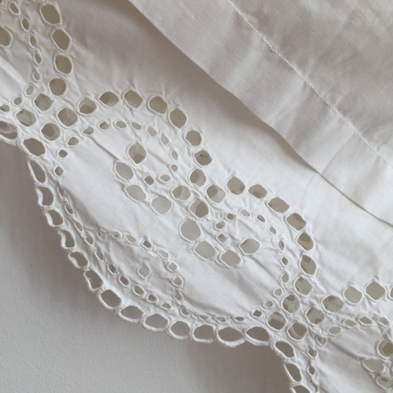 Long Natural Cotton Petticoat Circle Skirt Vintag… - image 2