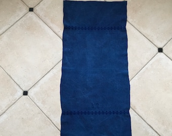 Indigo Overdyed Tea Towel Linen DTT2004