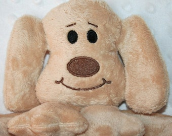 Hand-crafted Puppy Woobie - Minky Security Blanket