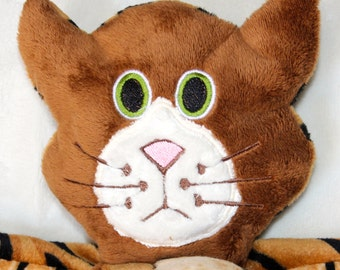 Hand-crafted Tiger Woobie - Minky Security Blanket