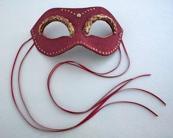Bordeaux Masquerade Mask