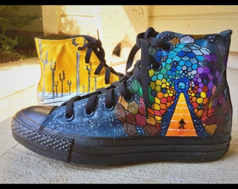 8d6c0e793ea2 MUSE Inspired Hand-Painted Converse