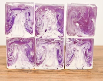 Lavender Soap- Purple Soap- Melt and Pour Soap- Natural Soap- Hand Made Soap- Bar Soap- Hand Soap- Body Soap- Gift Soap- MP Soap- EO