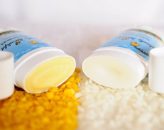 Organic Shea Butter Probiotic Deodorant - Handmade Antiperspirant - Paraben Free - Homemade - Solid Tube Stick - Aluminum Free - Deodorant