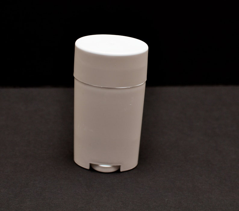 2 5 oz Empty Deodorant Tubes- Empty White Lotion Container- Empty Deodorant  Containers- Empty Tube- Deodorant Containers- FREE SHIPPING!