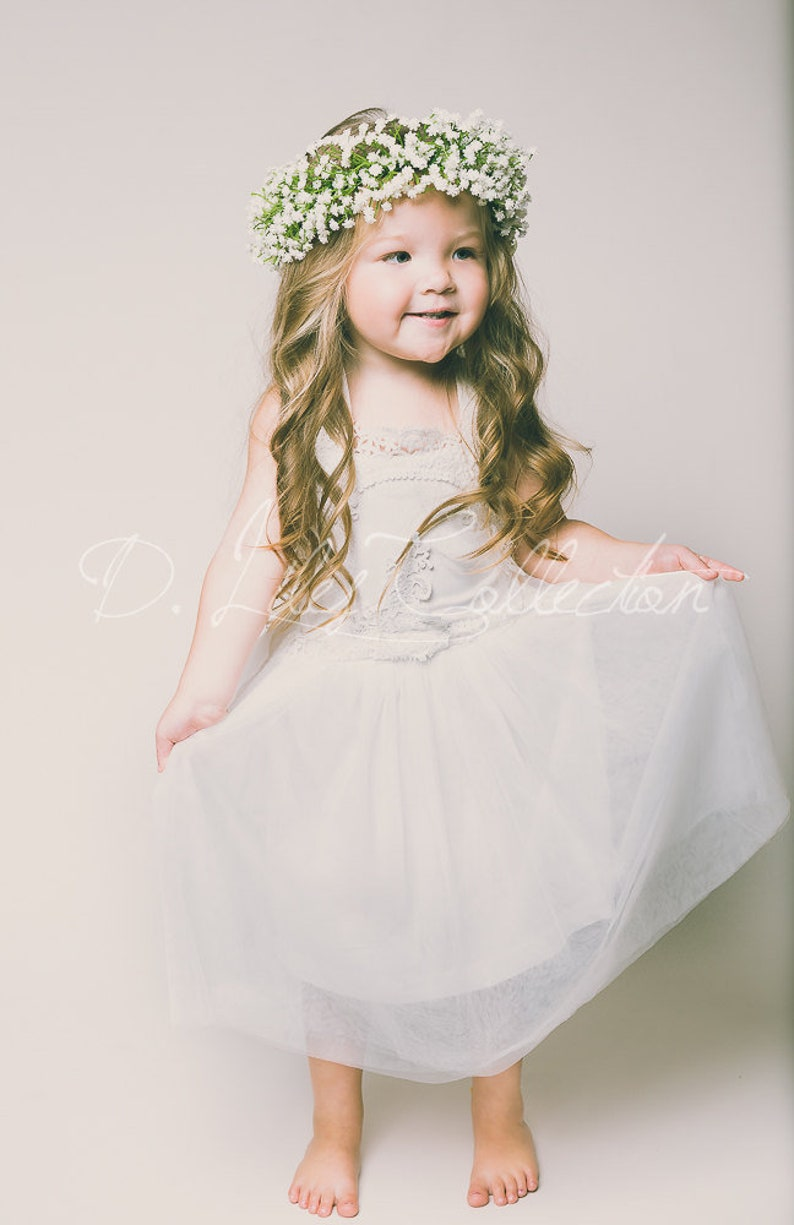 51b51682e52 The Evangeline White Blush Ivory chiffon lace tulle