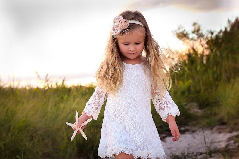 951efdb689 The Chloe Flower Girl Lace Dress Birthday Dress made for