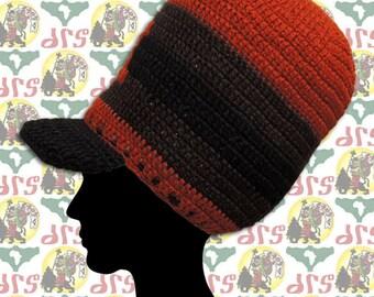 19027e274b7 Zion Brand  Size-M  Rasta Crown Knit Tam