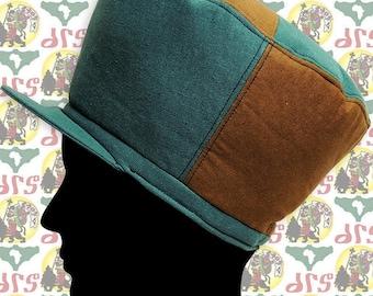 2e8c800356c86 drs Brand  Size M  Marshall style Rasta Crown Hat Roots Dub Reggae Jamaica  African fabric Ethiopia Dreadlocks