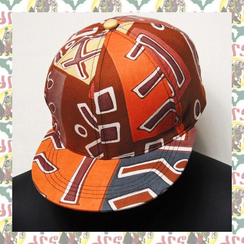 African Fabric Handmade Cap  reggae rasta Baseball cap drs
