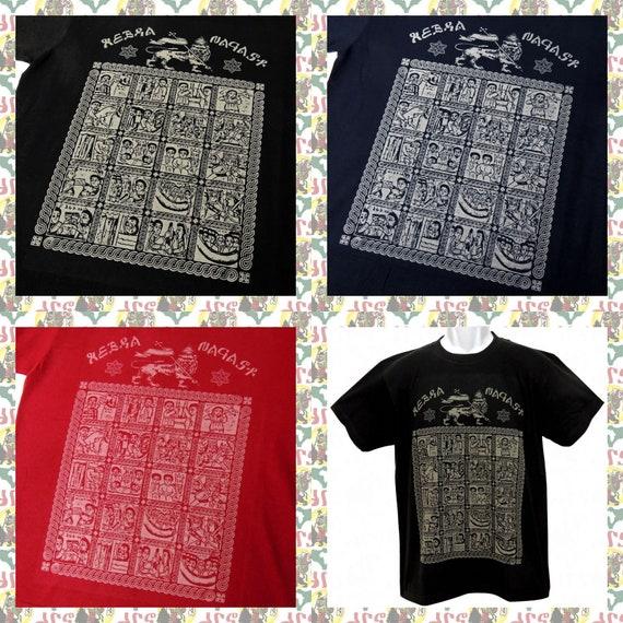 "Lion Of Judah Rasta Reggae Africa Embroidered Giant Shirt Jacket Back Patch 9.5/"""