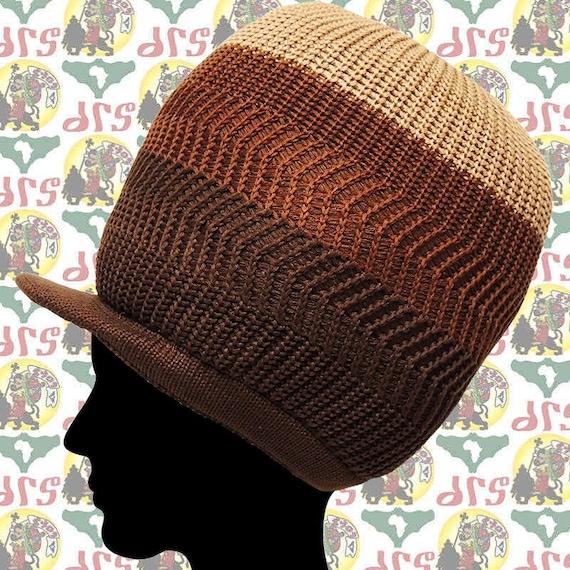 195847c91 Rasta Dread Dreadlocks Tam Hat / Beret 100% Cotton Cap Reggae Marley  Jamaica M/L roots dub dread head wrap