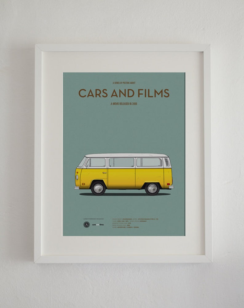 Little Miss Sunshine Car Movie Poster Art Print A3 Cars And Etsy
