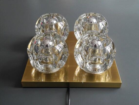 Lampade In Vetro Anni 70 : Cenedese murano lampada da tavolo anni in vetro satinato