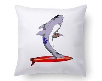 Der Weiße Hai Kissen | Der Weiße Hai Dekor | Wohnkultur | Hai | Geschenk  Für Sie | Housewarminggeschenk | Dekorative Kissen | Geschenk