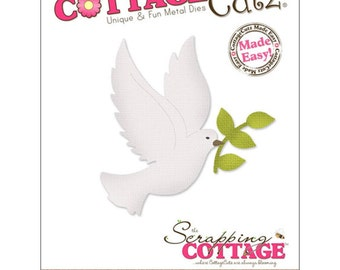 "CottageCutz Die-Dove 2.3/""X2/"" 3X3005"