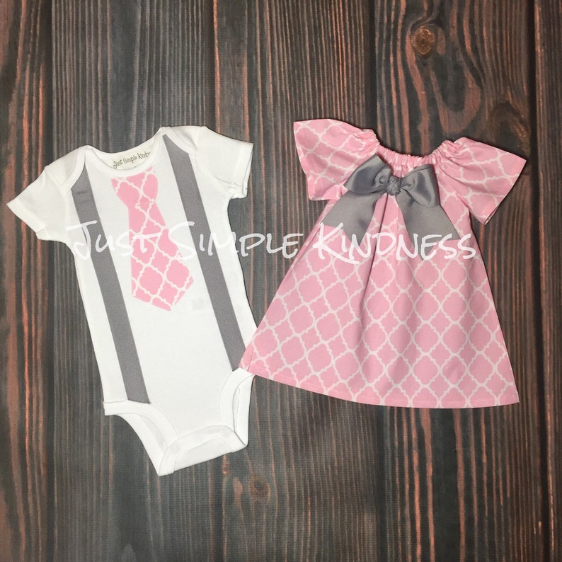 Baby Boy   Baby Girl Twin Outfit. Easter Outfit. Twin Outfit.  5fcea92e5d28