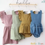 R47/ Sewing pattern / PDF sewing pattern / 4 Bundle romper and dress / Kids sewing pattern pattern / baby sewing patterns /0M~7-8Y