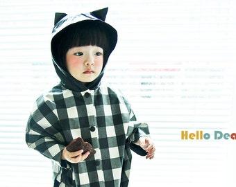 kids costume kids sewing pattern pdf kids cat rain cape kids costumehalloween costume children clothing18month 8years