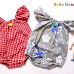 R23/ Sewing pattern / PDF sewing pattern / Ruffle Romper / Baby romper pattern / baby sewing patterns / romper pattern / New born to 2T