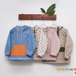 O7/Sewing pattern/PDF sewing pattern/Kids anorak/kids jumper pattern/kids sewing patterns/kids sewing patterns/2T-7Years