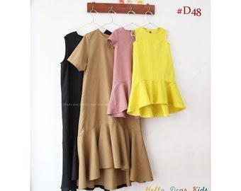D48 /Mom and Kids pattern/Bundle sewing patterns/PDF sewing pattern/kids sewing patterns-2T-10years/ Women's sewing pattern- XXS-XL