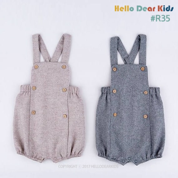 R35/ kids sewing pattern pdf Retro Baby Toddler Romper Baby   Etsy