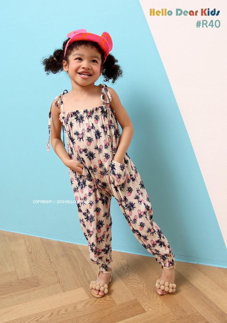 R40/Sewing pattern / PDF sewing pattern/harem jumper pants image 0