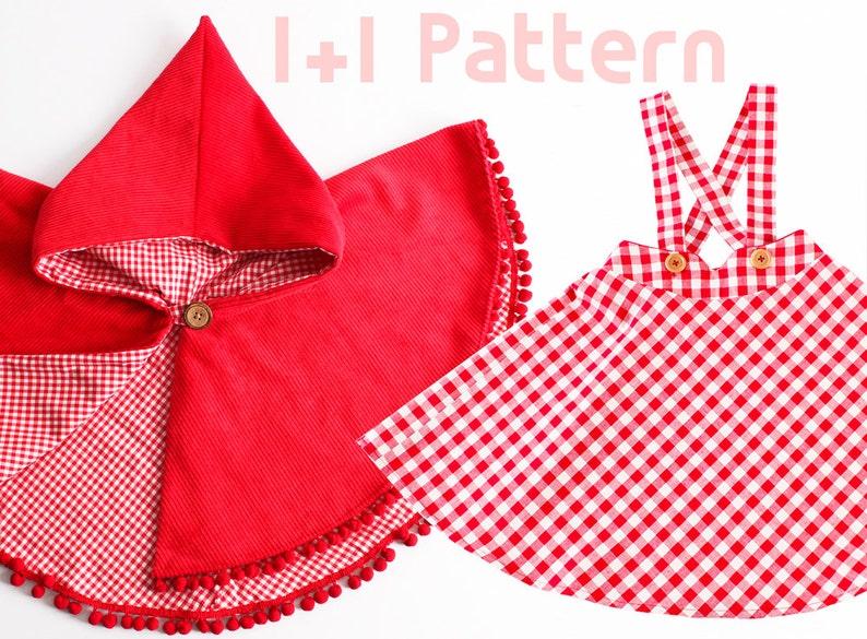 Girl's dress/ 11 Kid's sewing pattern pdf/ Kid's image 0