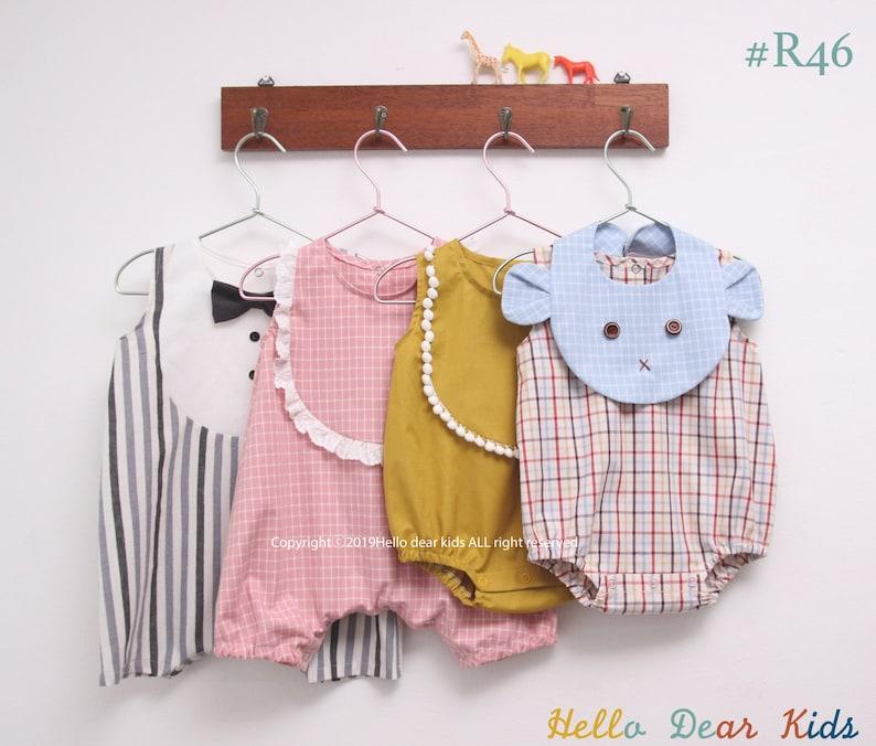 R46/ Sewing pattern / PDF sewing pattern / 4 Bundle pattern/ image 0