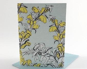 Floral Letterpress Cards