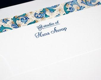 Letterpress Business Stationery   Letterpress Personal Stationery   Letterpress Correspondence Card   Business Correspondence Card