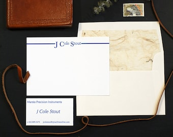 Personalized Correspondence Card | Digitally Printed Correspondence Card | Business Correspondence Card
