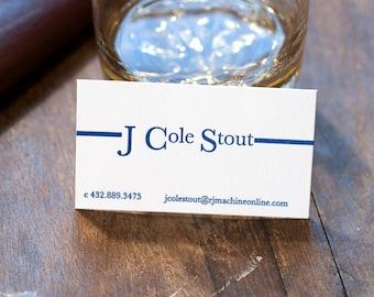 Letterpress Business Cards   Letterpress Calling Cards   Business Logo Business Card