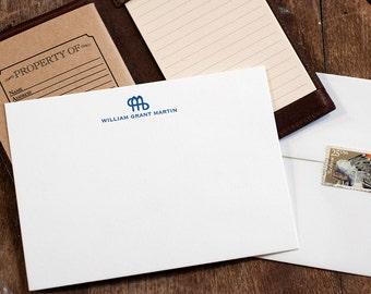 Letterpress Stationery   Ranch Brand and Name Stationery   Letterpress Correspondence Card   Formal Stationery