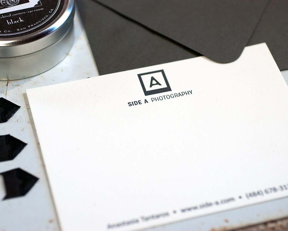 business stationery digitally printed personalized stationery