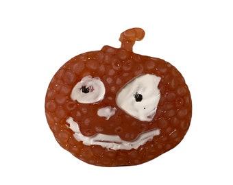 Vent Clip Freshie, Pumpkin Car Freshie, Mahogany Teakwood Scent, Masculine Scent, Car Freshener, Halloween Car Freshie