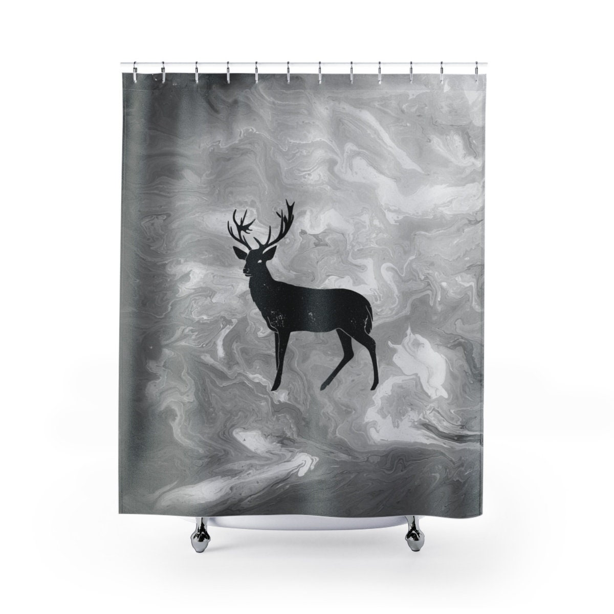 Shower Curtains Cabin Decor Bachelor Home