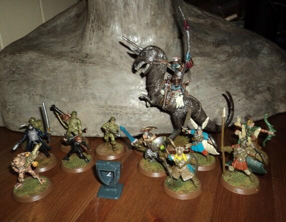 Heroscape Figurines Fantasy RPG rôle jouant un plateau en chiffres