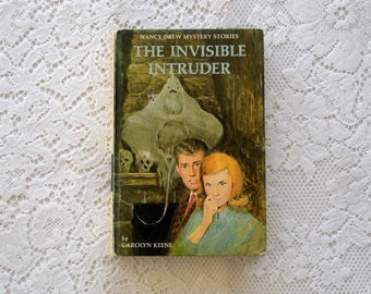 Vintage Book in the Nancy Drew Series, The Invisible Intruder