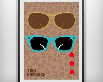 7bfa4575bb97 True Romance minimal minimalist movie poster