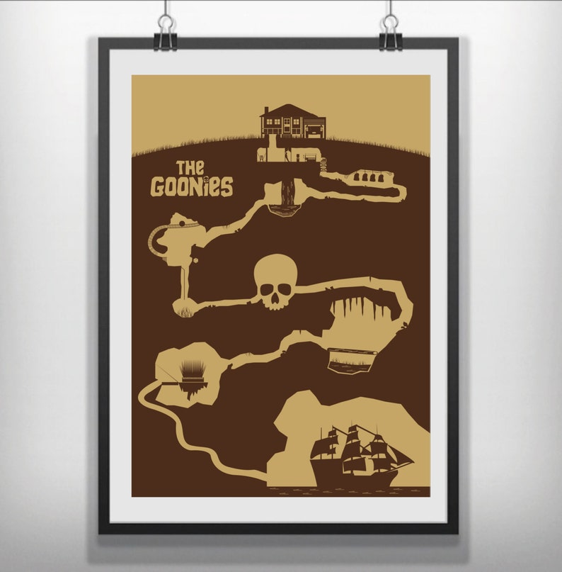 9bf64bc76a1 The Goonies Minimalist movie poster