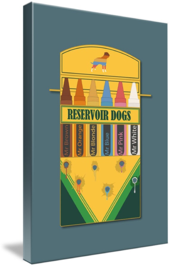 RESERVOIR DOGS MOVIE POSTER FILM A4 A3 ART PRINT CINEMA
