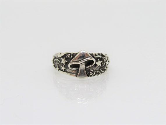 Vintage Sterling Ring SZ 9