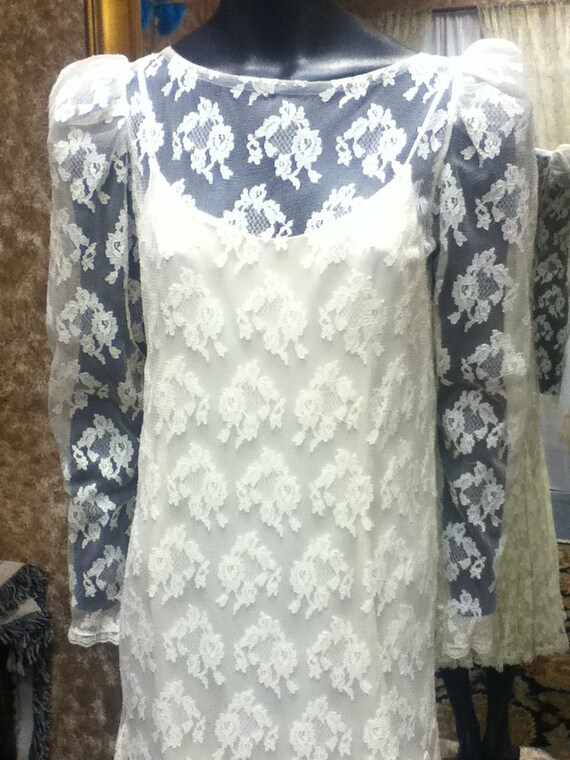 Vintage Wedding Gown - image 2