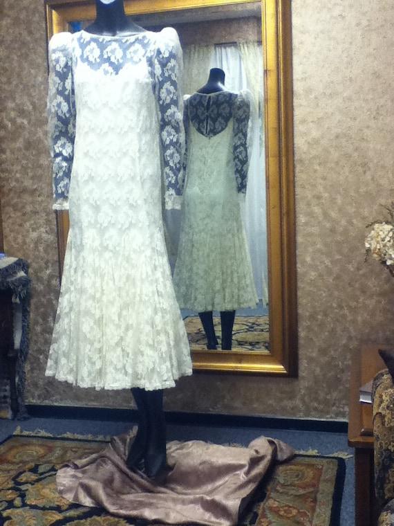 Vintage Wedding Gown - image 1