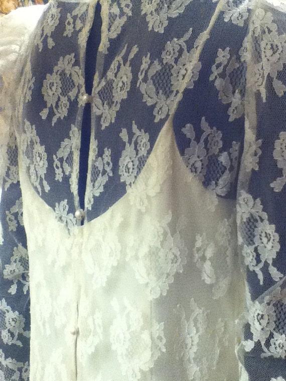 Vintage Wedding Gown - image 3