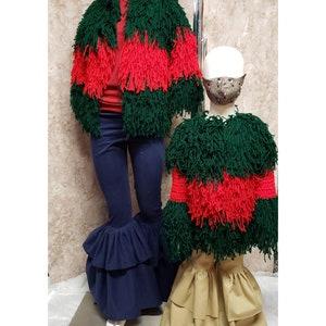 2 Jackets Baby /& Kids Crochet Shaggy