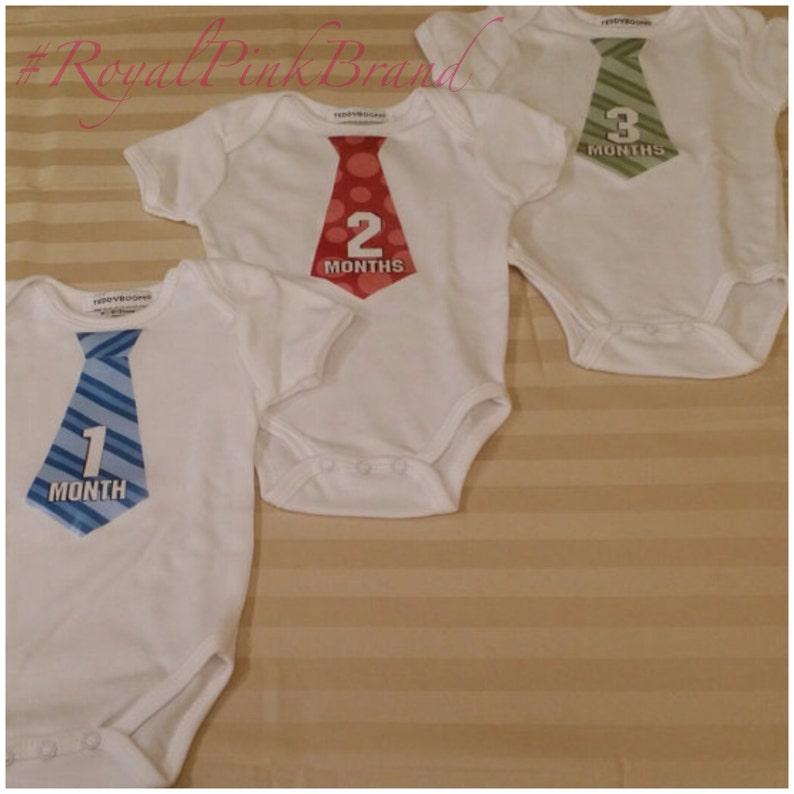 Milestone Baby Onesies