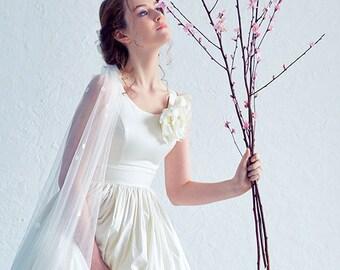 f29b21f74 Cherry Blossom / Romantic wedding dress quinceanera wedding dress  Lightweight wedding dress wedding dress alternative wedding dress